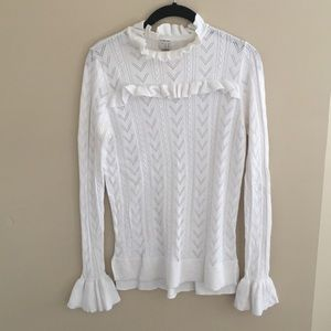 A New Day Long Sleeve Ruffle Top